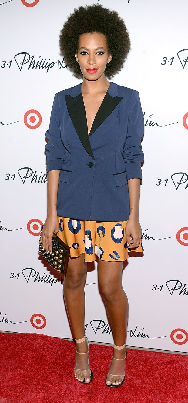 Solange Knowles: 3.1 Philip Lim for Target Launch