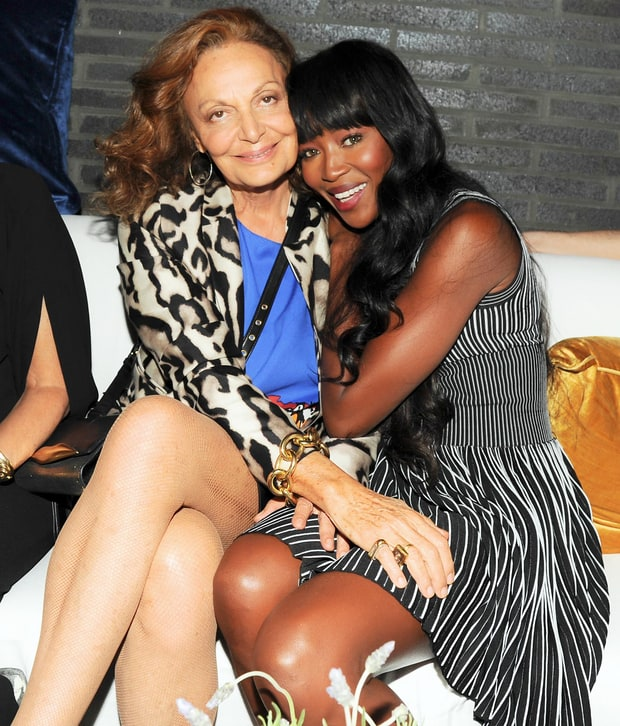 DVF's Supermodel Support