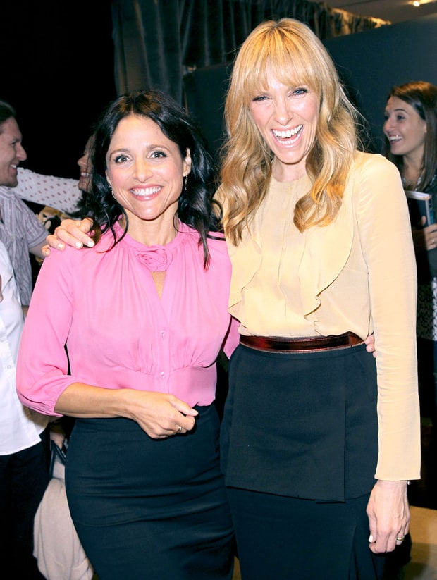 Julia Louis-Dreyfus and Toni Collette