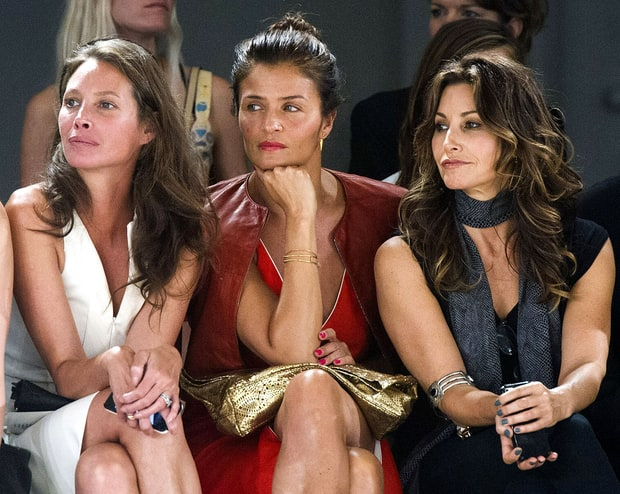 Christy Turlington Burns, Helena Christensen and Gina Gerson