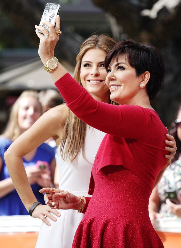 Maria Menounos and Kris Jenner
