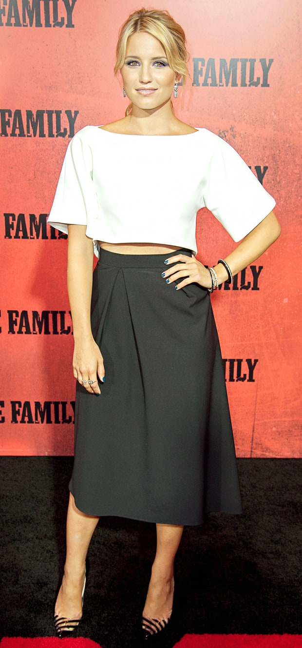 Dianna Agron: The Family Premiere