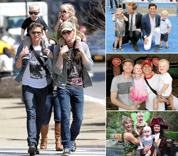 Neil Patrick Harris' Adorable Family!