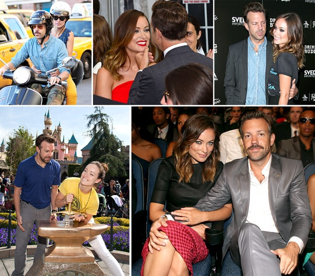 Jason Sudeikis and Olivia Wilde's Love-Filled PDA