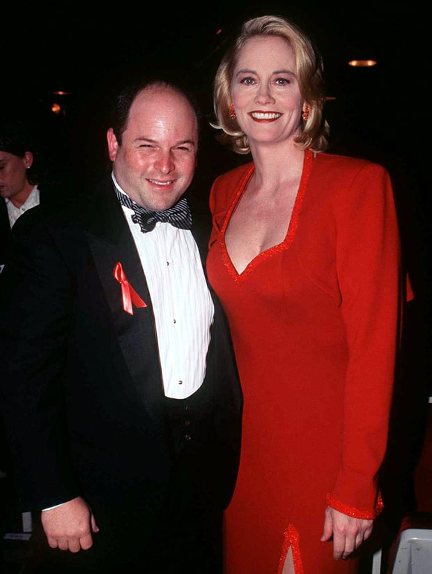 Jason Alexander and Cybill Shepherd