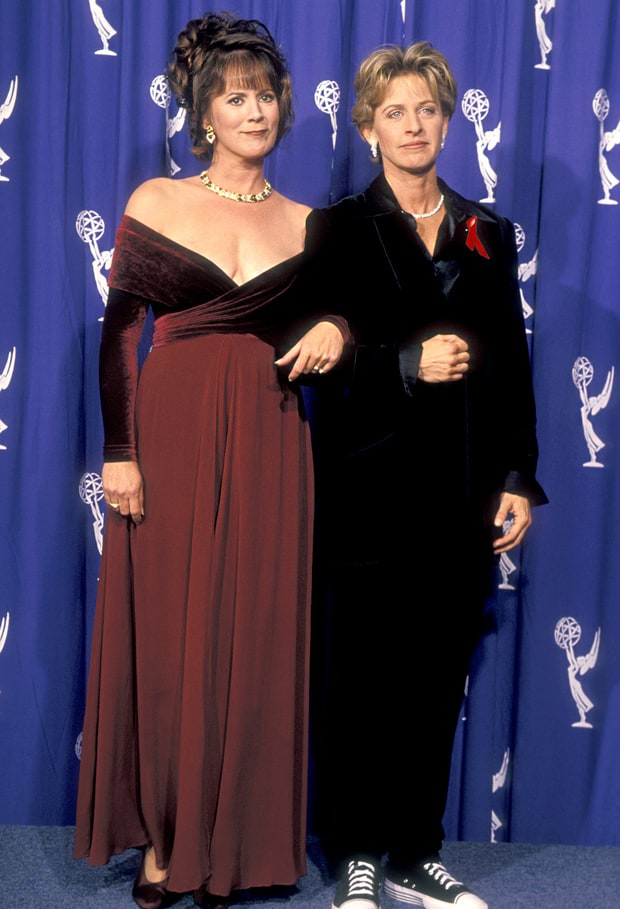 Patricia Richardson and Ellen DeGeneres