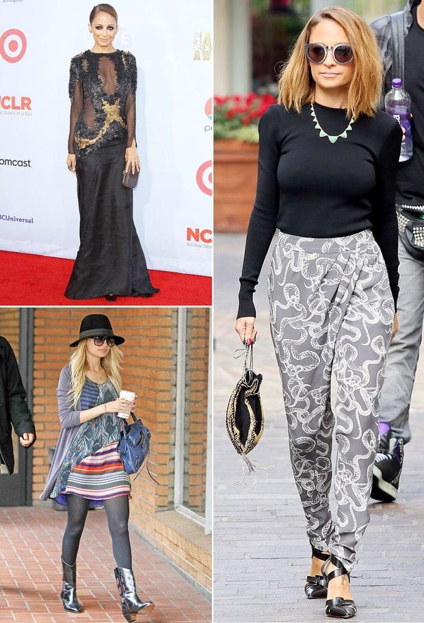 Nicole Richie Boho Style Hot Girls Wallpaper