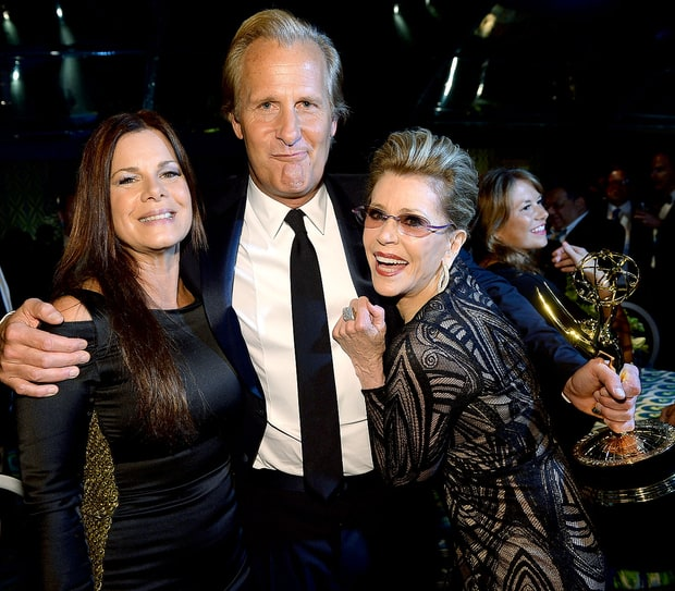 Marcia Gay Harden, Jeff Daniels and Jane Fonda