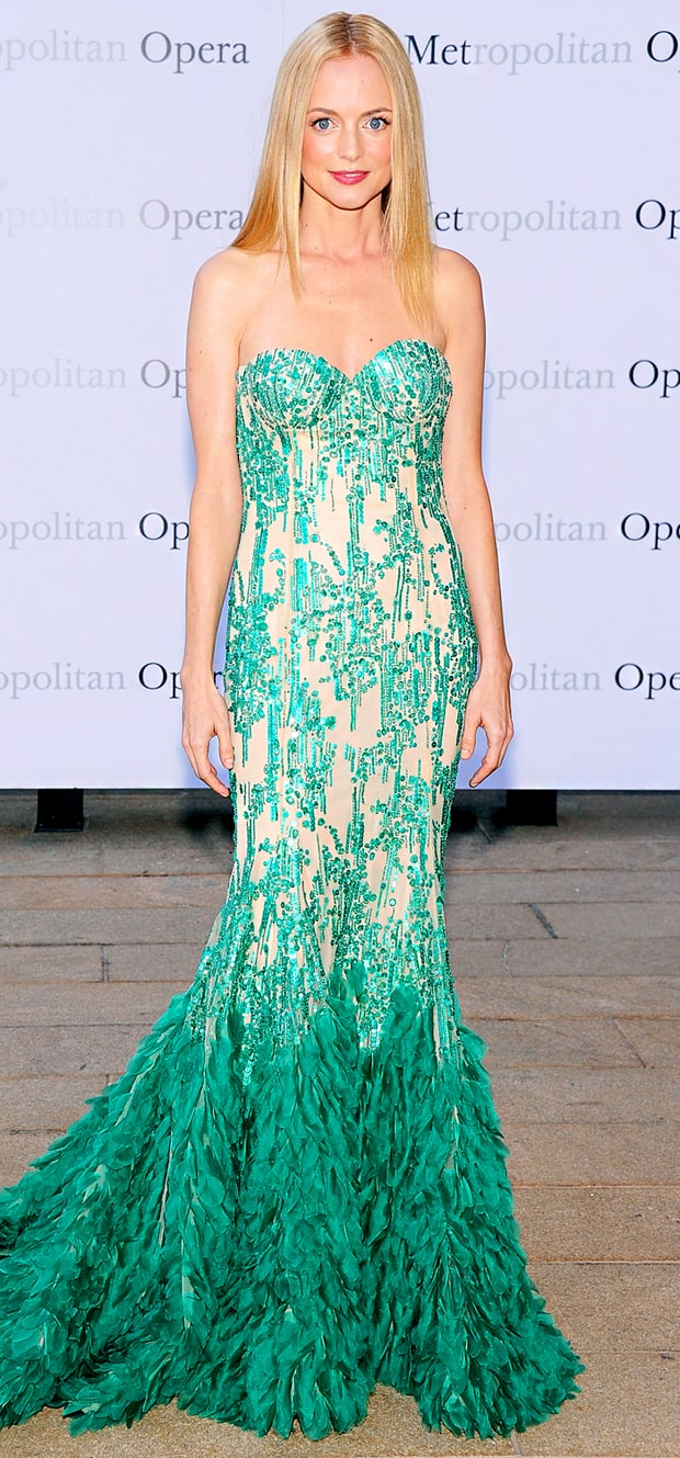 Heather Graham: Metropolitan Opera Season Opening