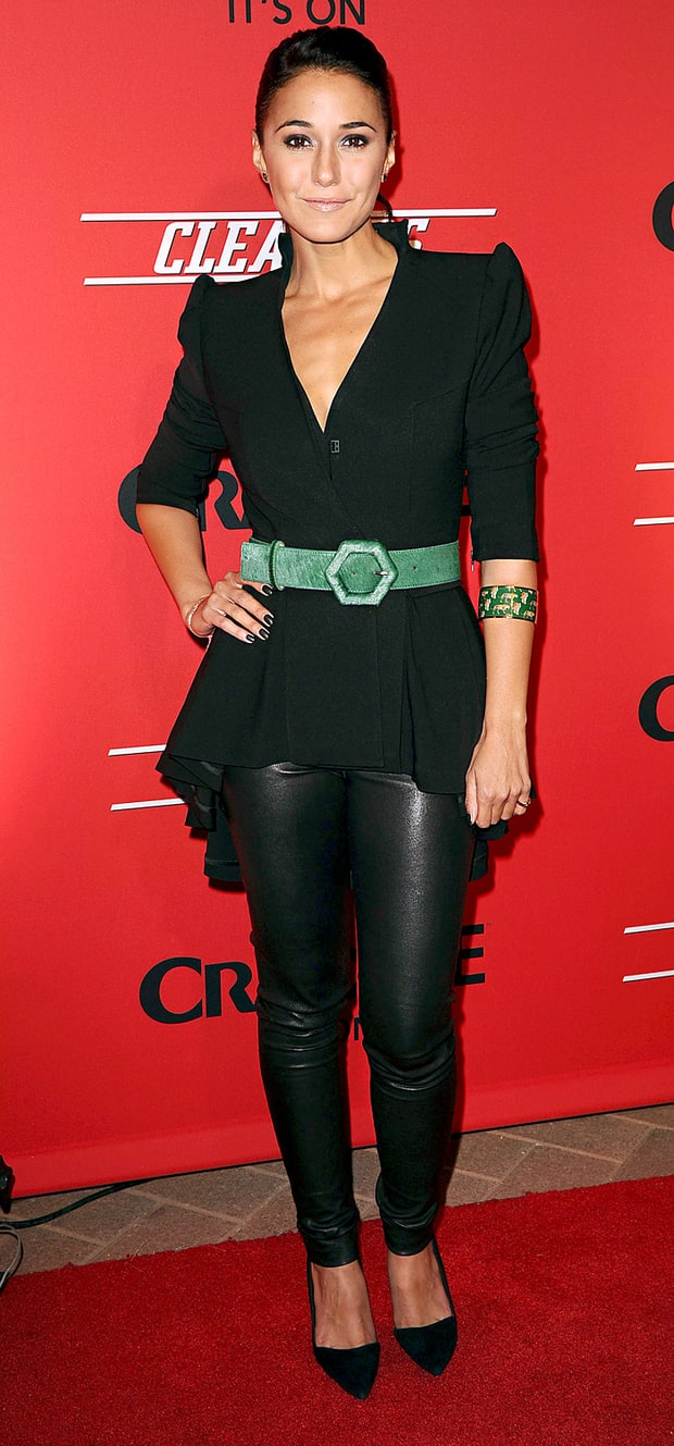 Emmanuelle Chriqui: Premiere of Crackle's Digital Series Cleaners