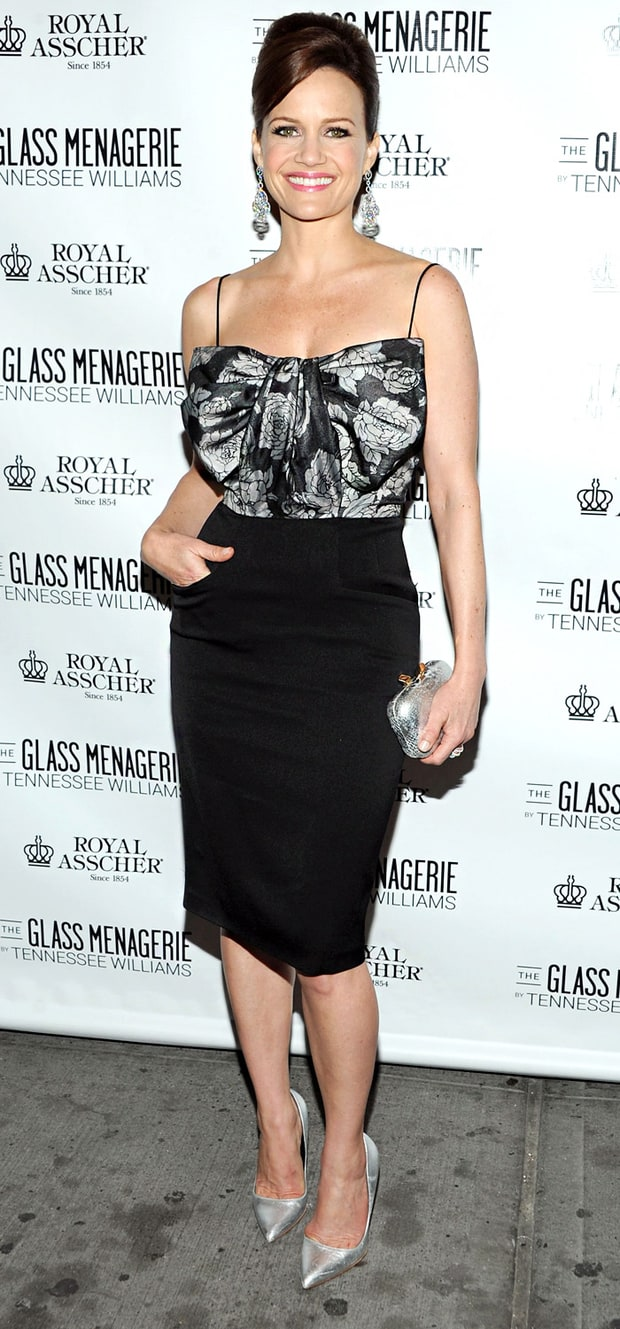 Carla Gugino: The Glass Menagerie Opening Night