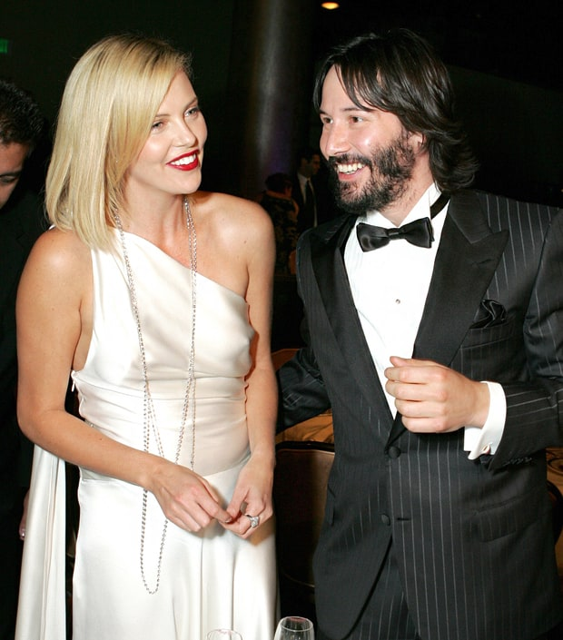 Keanu Reeves Charlize Theron