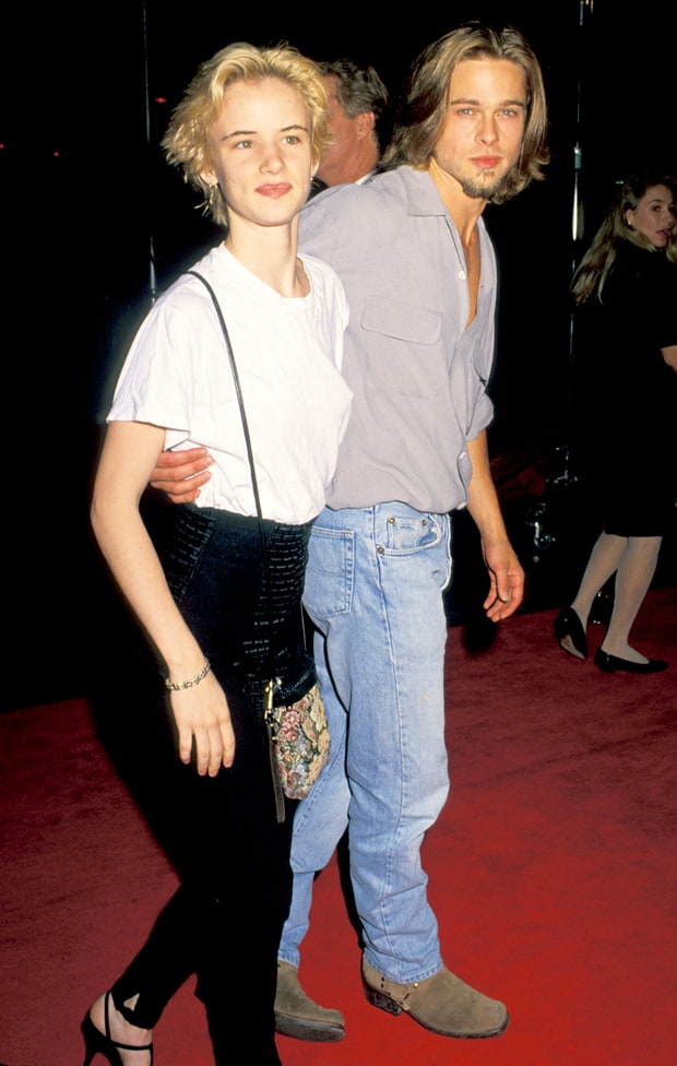 Brad Pitt and Julianne Lewis