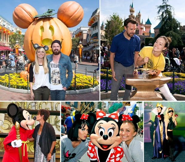 Celebs at Disney Theme Parks!