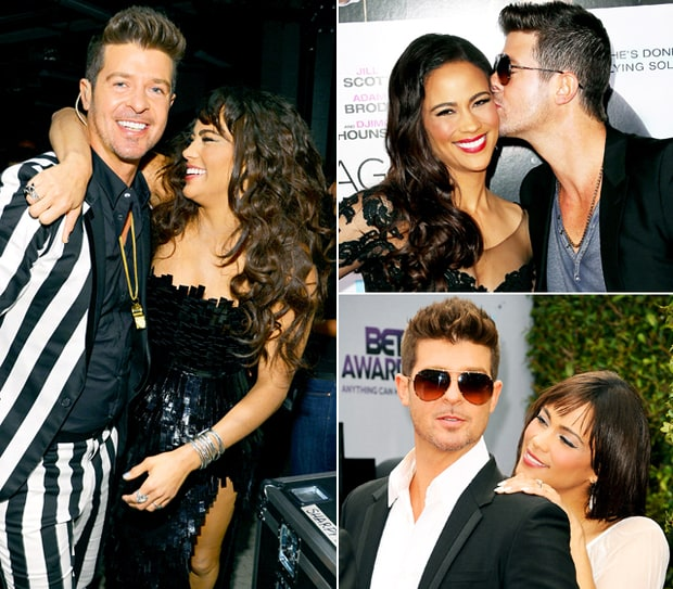 Robin Thicke and Paula Patton: The Way They Were