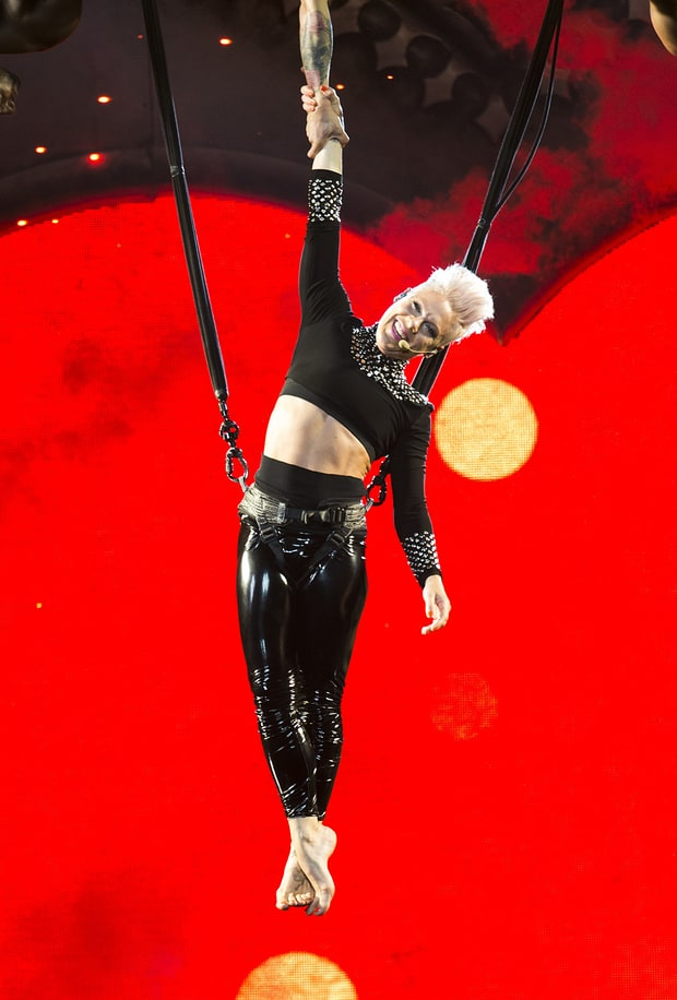 Pink's Performance