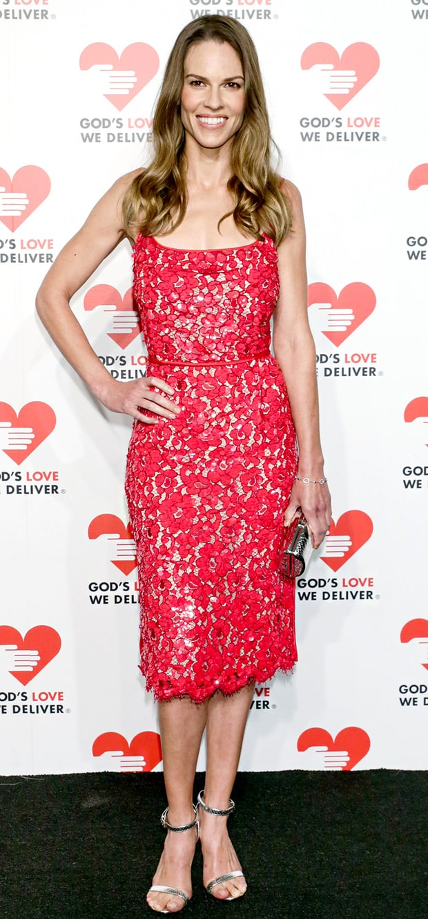 Hilary Swank: God's Love We Deliver 2013 Golden Heart Awards Celebration