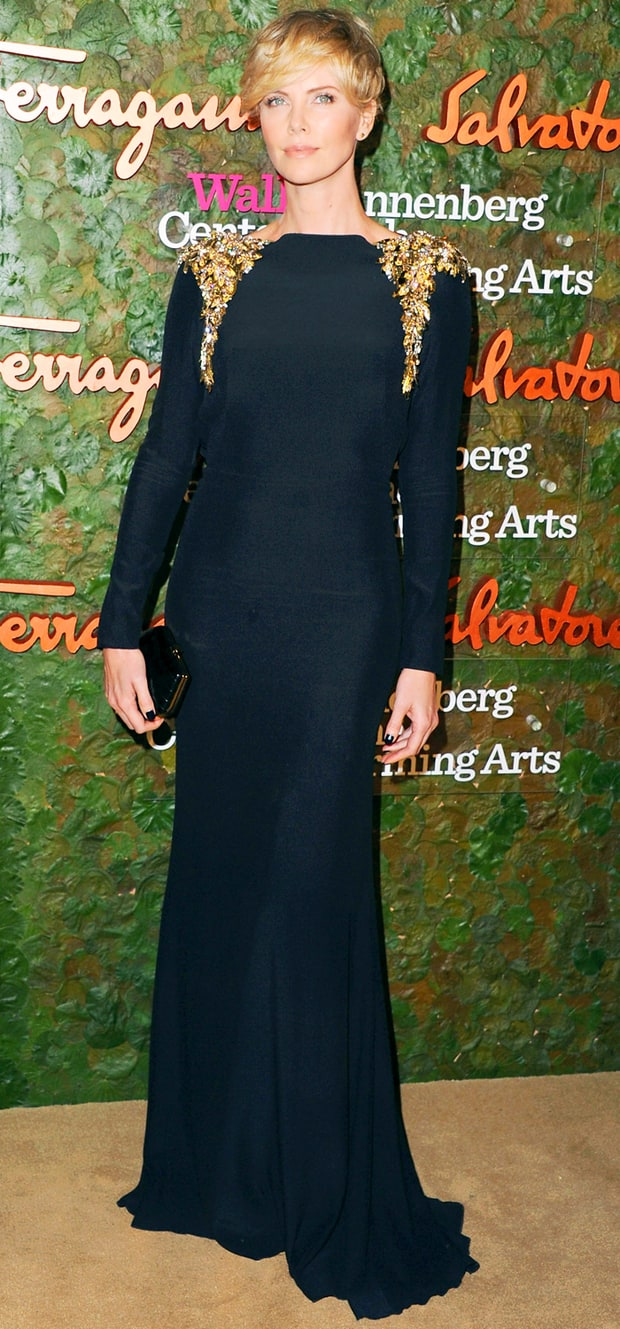 Charlize Theron: Wallis Annenberg Center for the Performing Arts Inaugural Gala Presented by Ferragamo