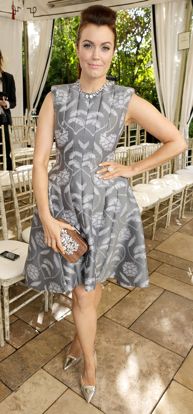 Bellamy Young at the CFDA/Vogue Fashion Fund Event