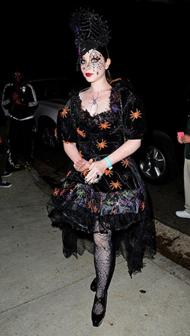 Michelle Trachtenberg Celebrities Halloween 2013