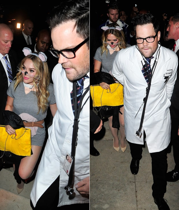 HIllary Duff and Mike Comrie