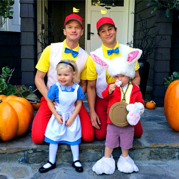 Neil Patrick Harris and David Burtka