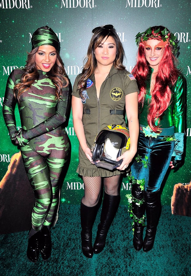 Christina Millian, Jenna Ushkowitz and Shenae Grimes