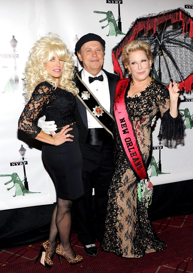 Katie Couric, Billy Crystal, and Bette Midler