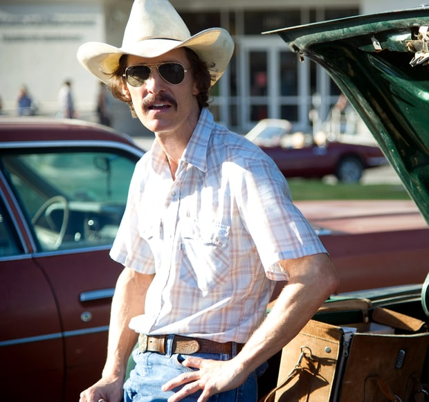 Matthew McConaughey in The Dallas Buyer's Club