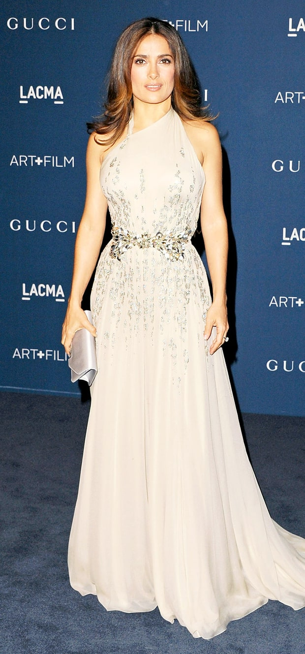 Salma Hayek at the LACMA 2013 Art + Film Gala