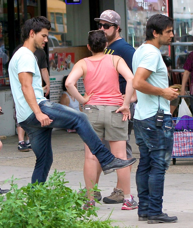Taylor Lautner in Tracers