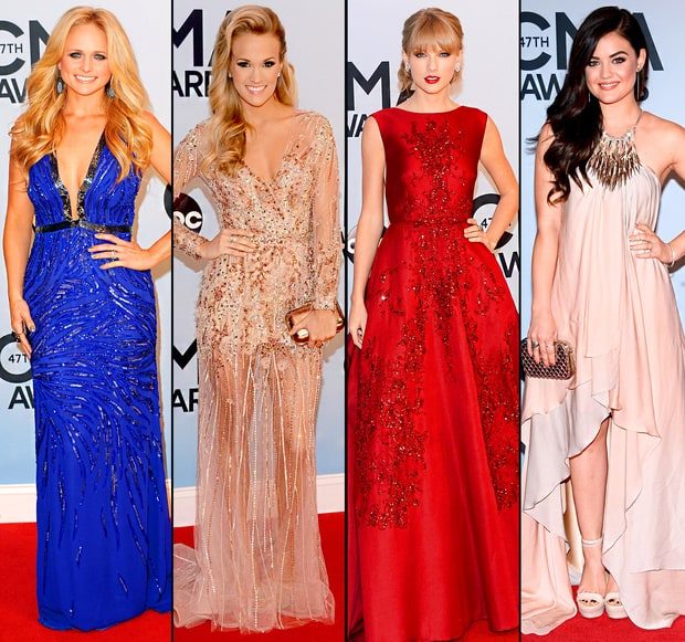 CMA Awards 2013 Red Carpet Photos: What the Stars Wore