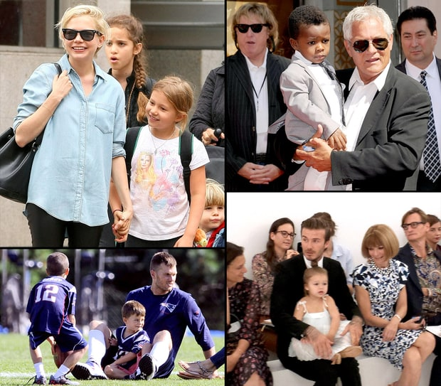Kids Supporting Their Celebrity Parents!