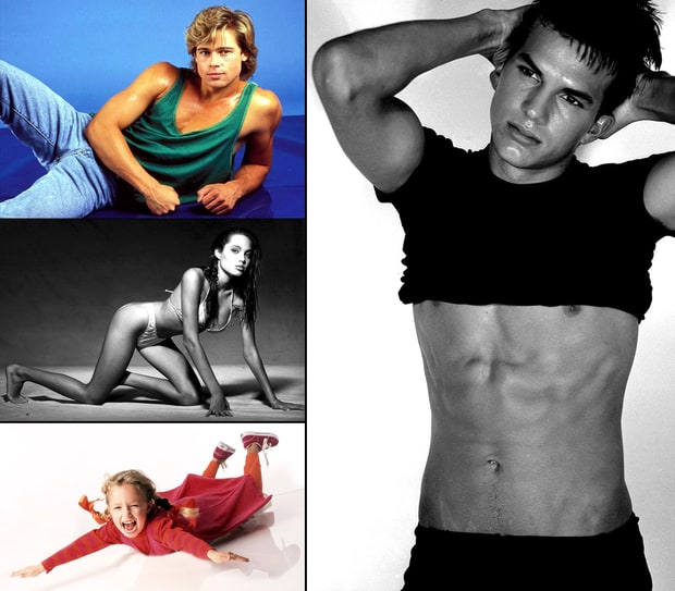 Celebs' Early Modeling Pictures