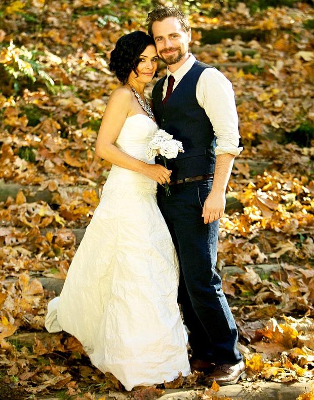 Rider Strong And Alexandra Barreto Celebrity Weddings