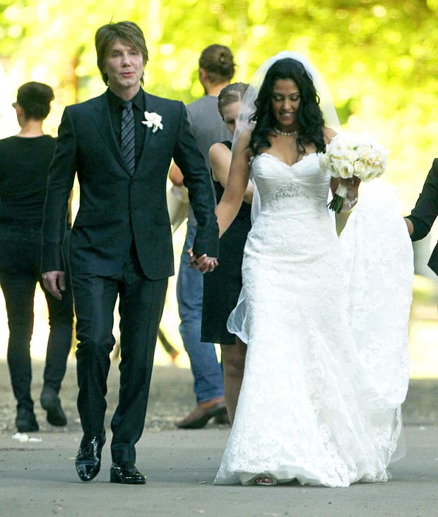 John Rzeznik and Melina Gallo
