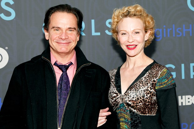 Peter Scolari and Tracy Shayne