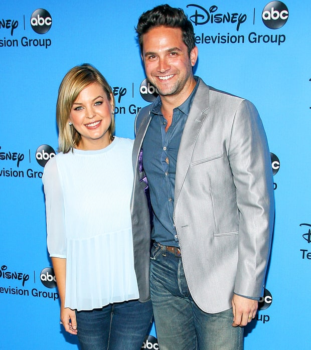Kristen Storms and Brandon Barash
