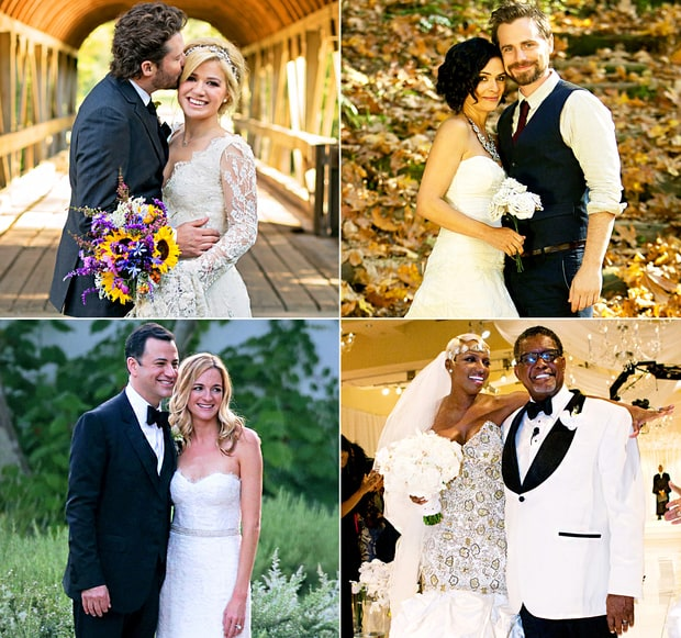 Celebrity Weddings 2013