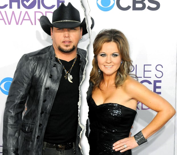 Jason Aldean and Jessica Ulssey
