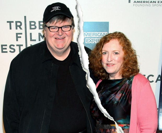 Micheal Moore and Kathleen Glynn