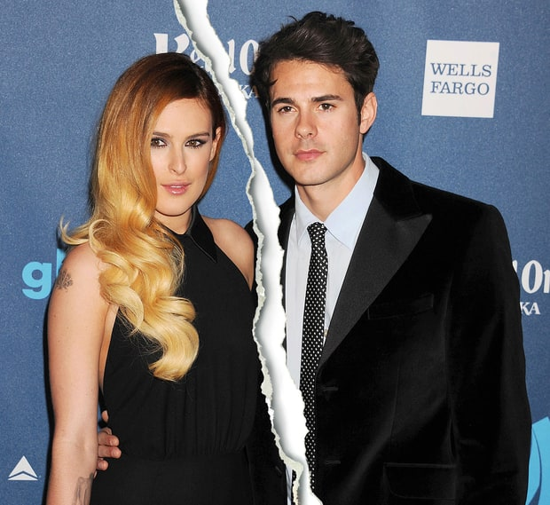 Rumer Willis and Jayson Blair