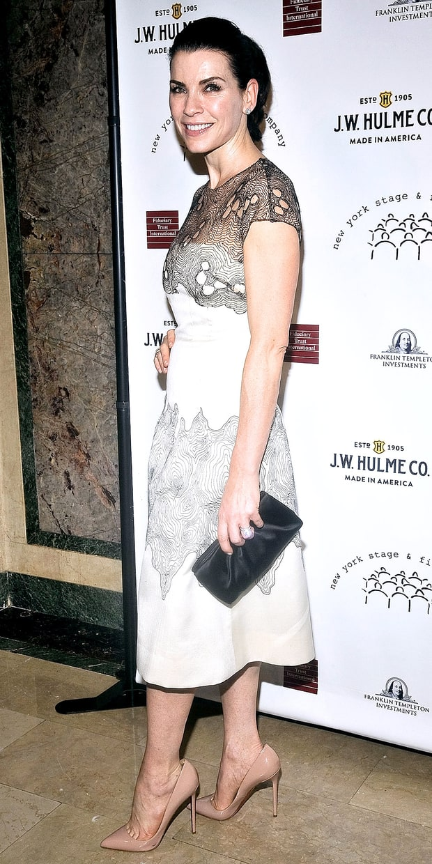 Julianna Margulies at the New York Stage and Film 2013 Gala