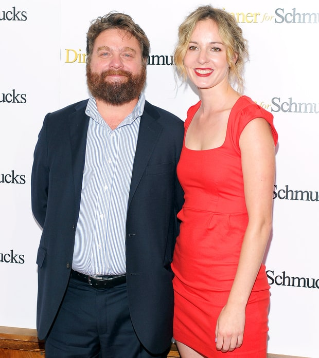 Zach Galifianakis and Quinn Lundberg
