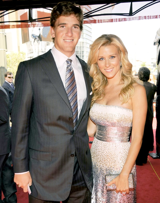 Eli Manning and Abby