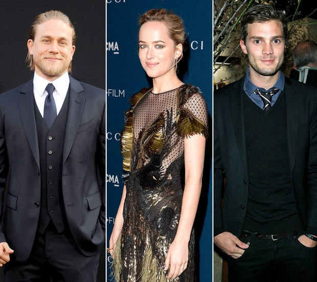 Charlie Hunnam, Dakota Johnson, Jamie Dornan