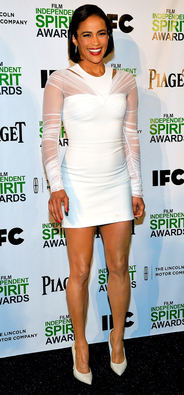 Paula Patton at the 2014 Film Independent Spirit Awards Nominations Press Conference