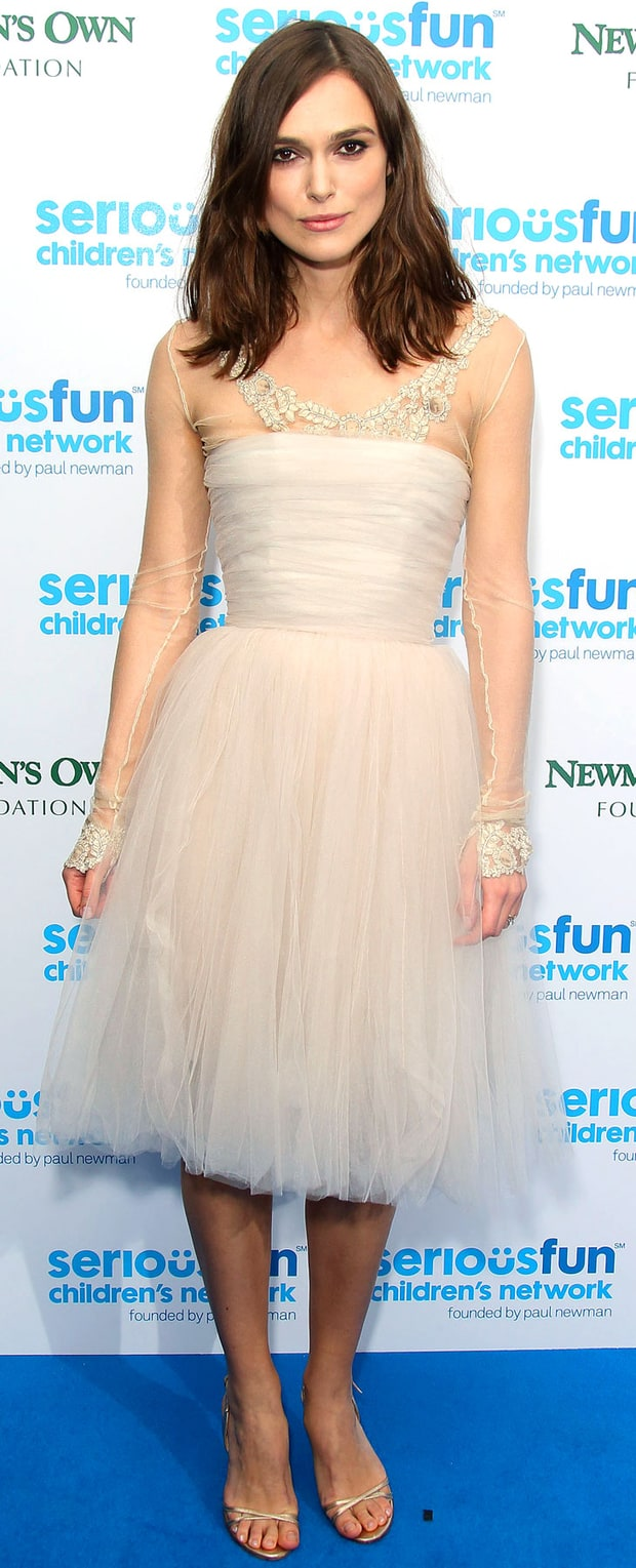 Keira Knightley at the SeriousFun London Gala