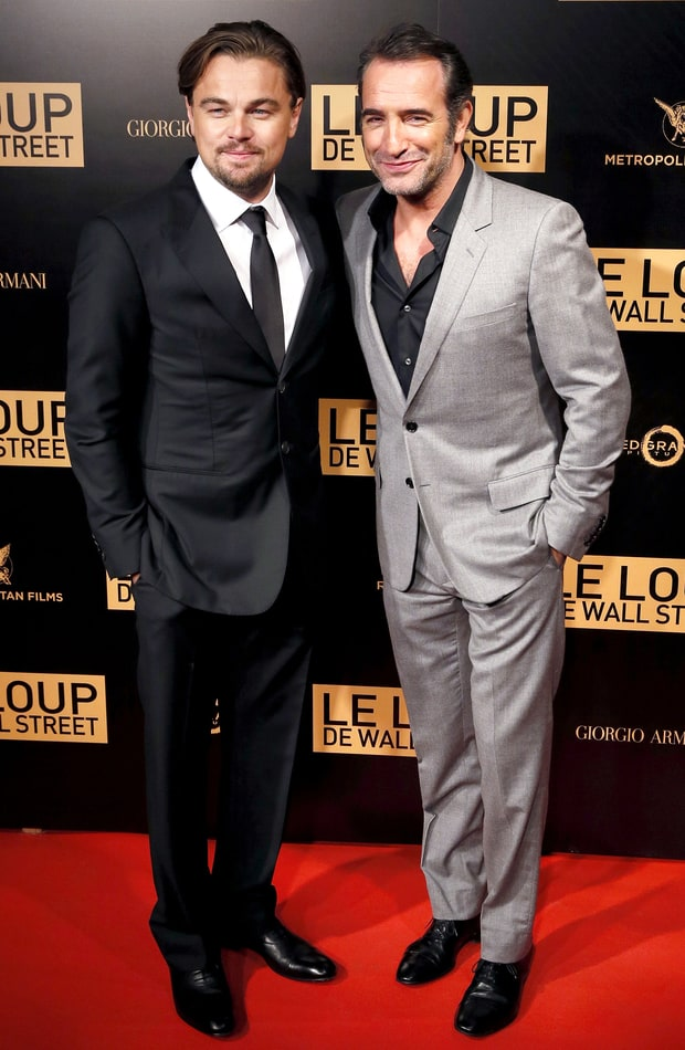 Leonardo dicaprio jean dujardin wolves on the prowl for Dujardin willy