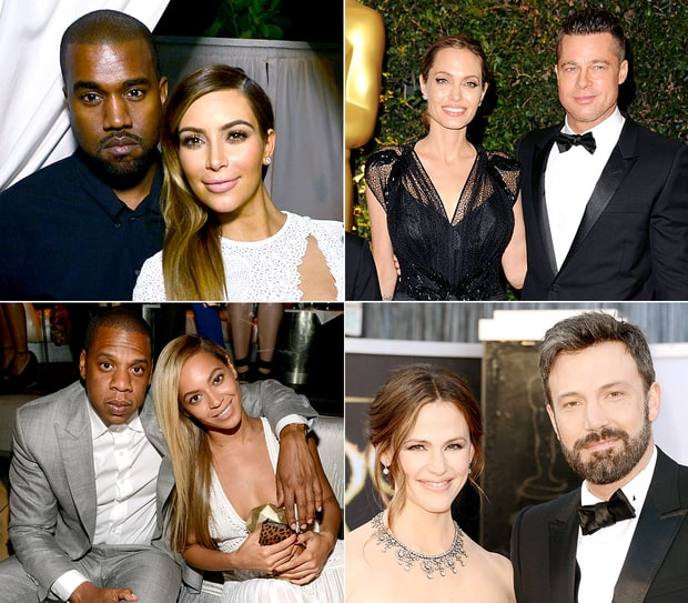 The Top 13 Celeb Couples of 2013